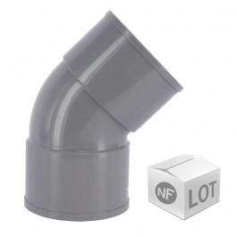 Lot de raccord PVC - Coude 45° FF FIRST-PLAST