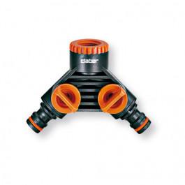 Nez de robinet Double Filet 15x21 - 20x27 - Double sortie