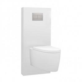 Panneau WC QR-BOX Régiplast Blanc suspendu - sans cuvette
