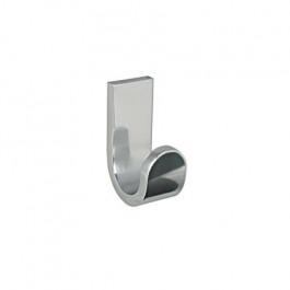 Patère aluminium Materia adhésive 3M