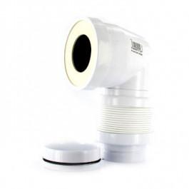 Pipe coudée extensible 110-100-93mm