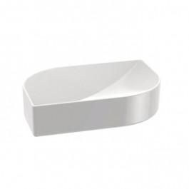 Porte-Savon KOH-I-NOOR VELA à poser 13x9x3cm céramique blanche
