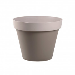 Pot de fleur Style bicolore Ø40x32cm rond - 23L