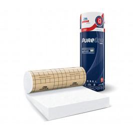 Rouleau de laine de verre PURE 40RP revêtu kraft 10m²20 - 100mm - R 2.50