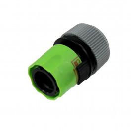 Raccord automatique sécurité Femelle à verrou pour tuyaux Ø15 et 19