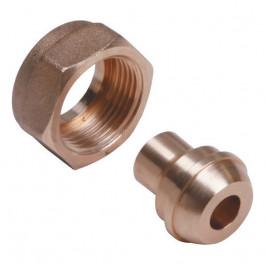 """Raccord à jonction sphéro conique 1""""1/2 (40/49) à braser sur tube cuivre Ø35"""