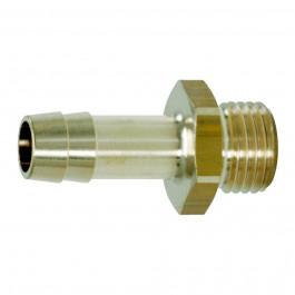 """Raccords filetage mâle pour tuyaux 1/4G""""x6mm"""