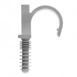 RAMCLIP Simple Ø28 GRIS - Fixation pour tubes PER / MULTICOUCHE et gaines ICTA