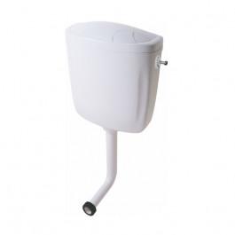 Réservoir wc double débit 3/6L semi-bas