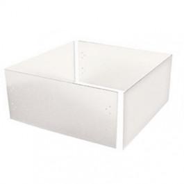 retenue d 39 isolant pour trappe de plafond 550x550x375mm pvc rigide 3mm. Black Bedroom Furniture Sets. Home Design Ideas