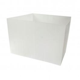 Retenue d'isolant pour trappe de plafond 550x550x375mm - polypropylène cannelé