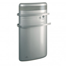 Sèche-serviette AIRELEC INDIGO rayonnant + soufflerie 1400W - Alu