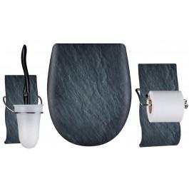Set OLFA accessoires WC ARDOISE mat