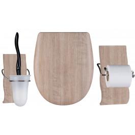 Set OLFA accessoires WC Baltik OAK mat
