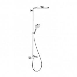 Showerpipe Raindance Select S 300 2 jets - Blanc/Chromé 27133400
