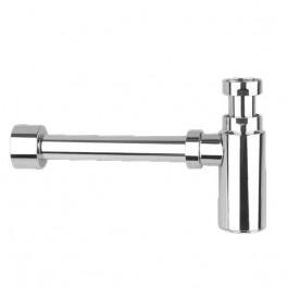 Siphon lavabo design ABS chromé