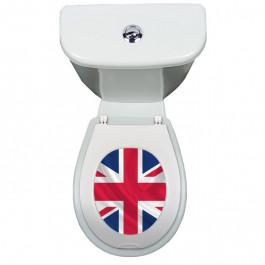 Sticker pour abattant WC clipsable PAPADO