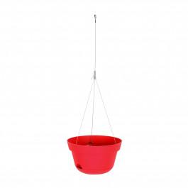 Suspension Toscane rouge tomate