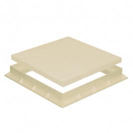 Tampon de sol PVC léger avec cadre anti-choc- SABLE - FIRST-PLAST