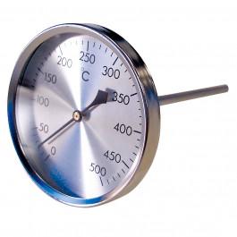 THERMADOR Thermomètre Gaz et Fumées - 0 à 500°C - Ø80mm