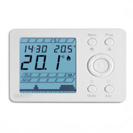 THERMADOR Thermostat ambiance programmable IMIT digital filaire IP20-PILES