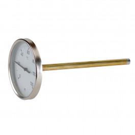 Thermomètre à plongeur 100 et 200mm - axial - Thermador