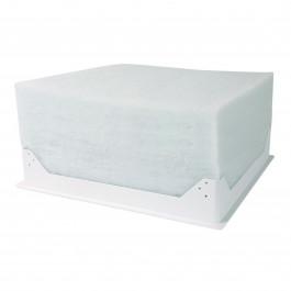 Trappe de plafond blanche isolée 580x580mm RT2012