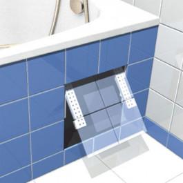 trappe de visite pour baignoire carreler. Black Bedroom Furniture Sets. Home Design Ideas