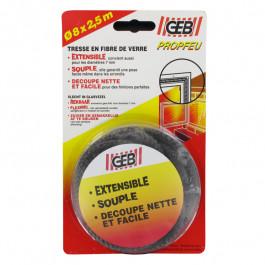 Tresse fibre de verre 2,5ml pour Ø 9 et 10mm