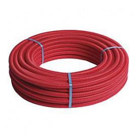Tube multicouche pré-gainé rouge - Ø26x3,0 - Alu 0,5mm - Henco