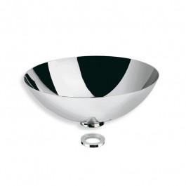 Vasque inox à poser H13cm - Ø24cm