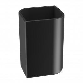 Verre KOH-I-NOOR VELA à poser 8x8x11.5cm céramique noire