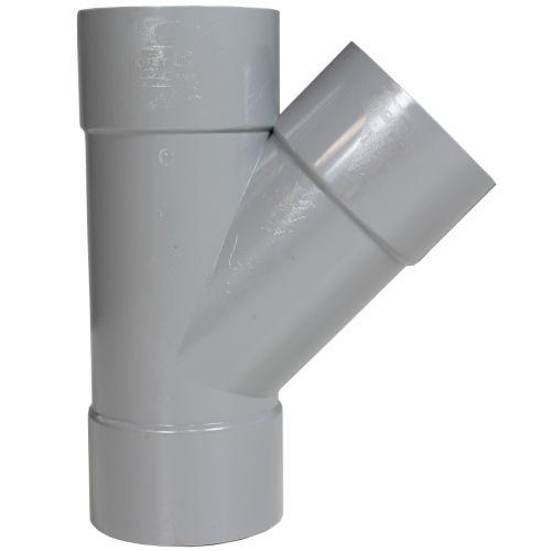 Culotte PVC 45° Femelle-Femelle FIRST-PLAST DISPONIBLE en 9 MODÈLES