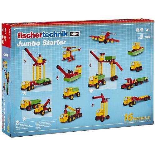 Jeu De Construction Junior Fischertechnik Jumbo Starter 5 Ans