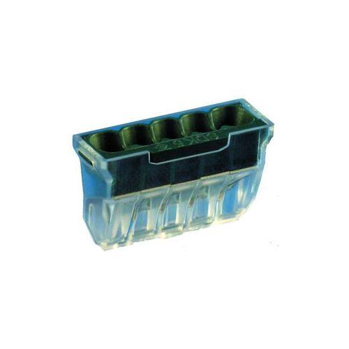 Borne connexion rapide 8x0,5 à 2,5mm² et 1,5 à 2,5mm²