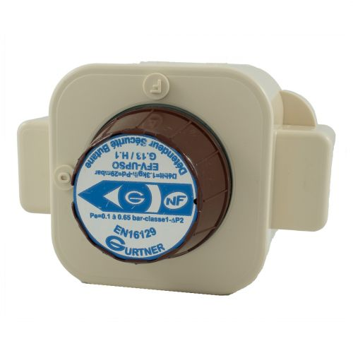 Détendeur à Sécurité gaz Butane - 2.6kg/h 28mbar - NF