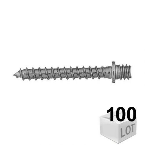 100 Pattes à vis bois 7x150 Fischer - en boîte - DISPONIBLES en 6 Longueurs