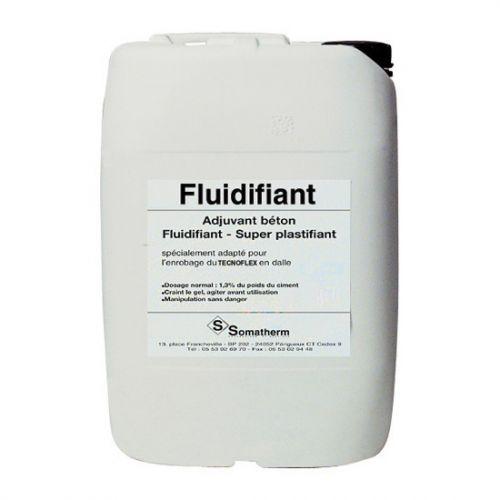 Fluidifiant béton - Améliore l'enrobage du tube