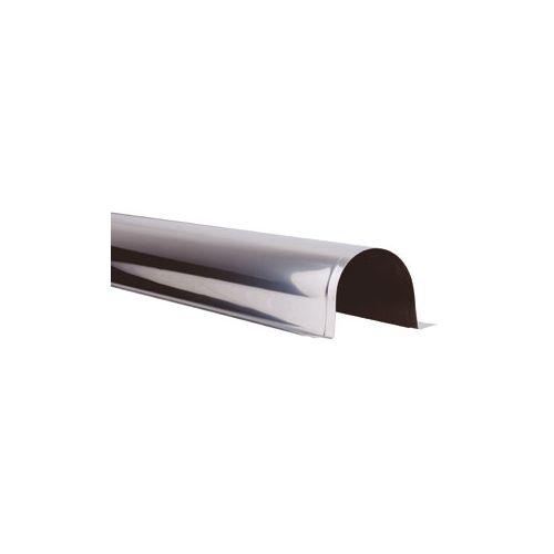 Goulotte INOX de protection 1ml - Largeur 90mm pour tube Ø54