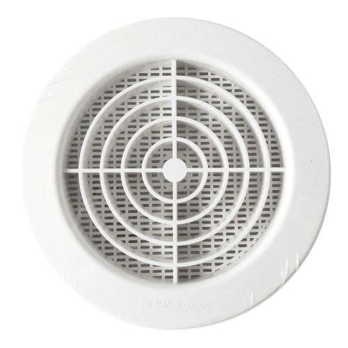 Grille de ventilation intérieure pour tube pvc et gaine diamètre 160 mm NICOLL