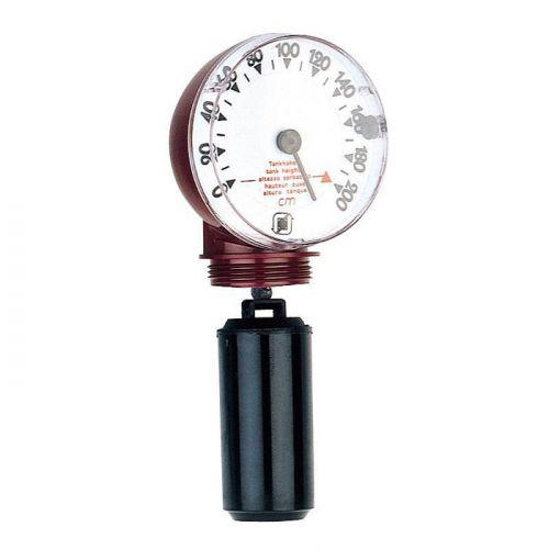 Jauge mécanique verticale réservoir fioul