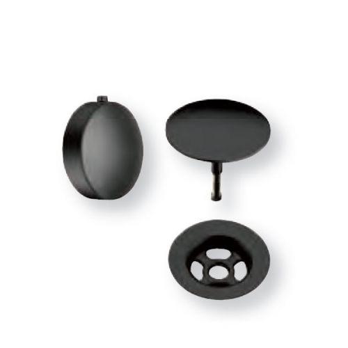 Kit couleur pour vidage baignoire à câble - Blackmat - Cristina Ondyna KT7713