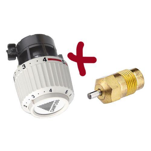 Kit tête thermostatique RA/V 2960 + presse étoupe de rechange