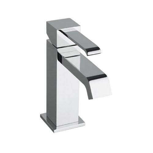 Robinet mitigeur lavabo QUADRI Chromé + vidage - Cristina Ondyna QM22151