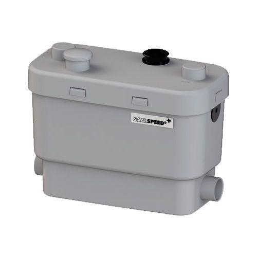 Pompe déchiqueteuse 600 W pour des déchets de toilette lavabo douche arrête auto