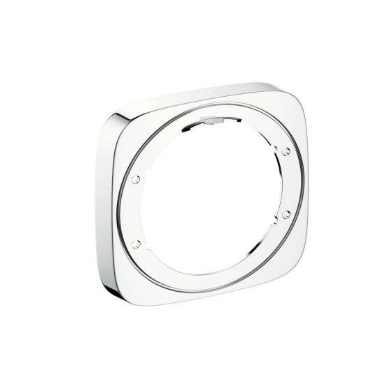 HANSGROHE Rosace de compensation IBox set finition 157x157mm Chrome
