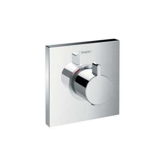Set de finition pour mitigeur thermostatique ShowerSelect E encastré haut débit Chromé Hansgrohe