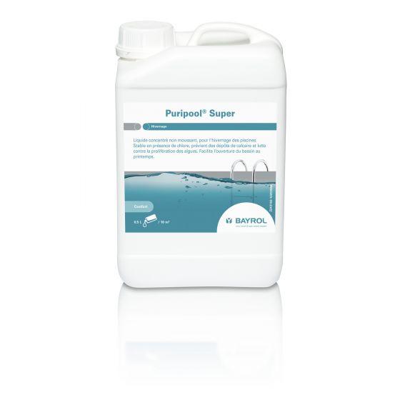 Puripool Super Bidon 3 litres - Hivernage piscine extérieure - BAYROL