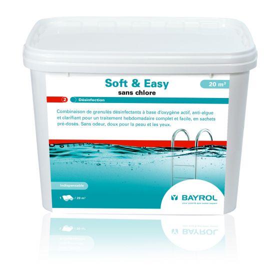 Soft & Easy 4,48 kg pour 20m3 - Traitement piscine sans chlore