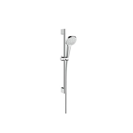 Set Croma Select E 110 Multi EcoSmart / Unica'C 0,65 m blanc chromé Hansgrohe